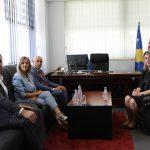 Kryetarja e Gjykatës Themelore në Prishtinë Albina Shabani Rama, ka pritur në takim Kryeprokurorin e Prokurorisë Themelore në Prishtinë, Kujtim Munishi