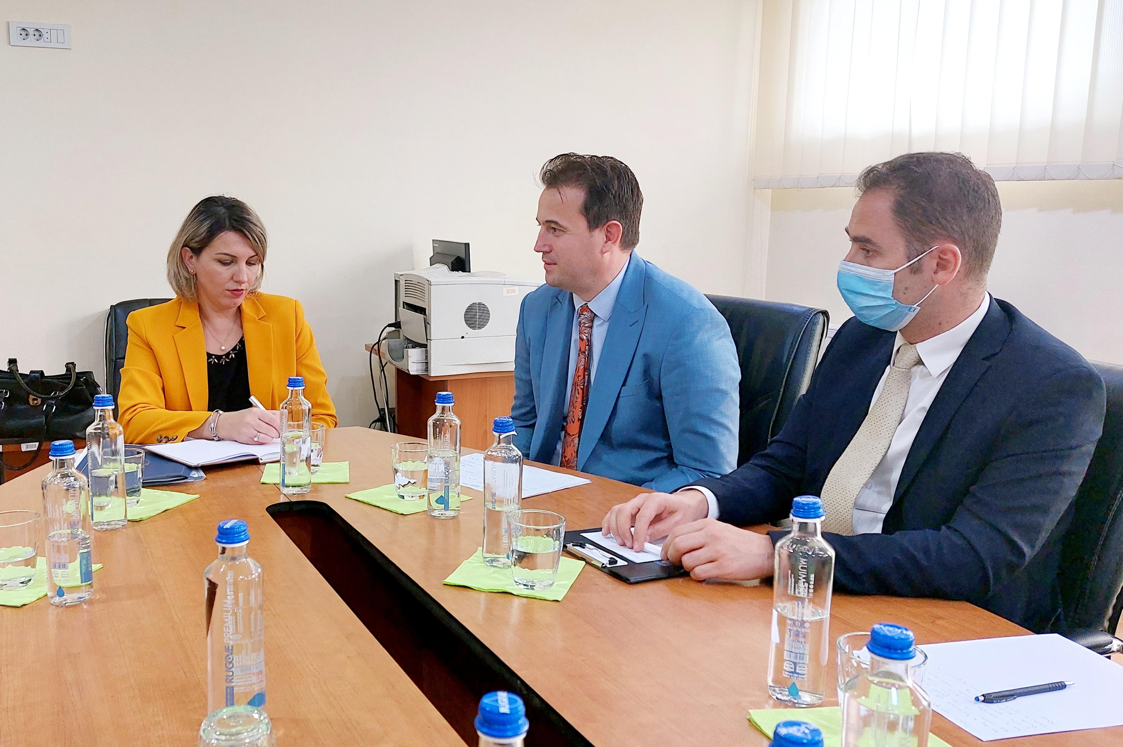 Kryetarja e Gjykatës Themelore në Prishtinë Albina Shabani Rama vizitoi degën në Podujevë, të Gjykatës Themelore në Prishtinë