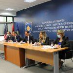 Kryetarja e Gjykatës Themelore në Prishtinë Albina Shabani Rama ka pritur në takim Kryesuesin e Këshillit Gjyqësor të Kosovës, Kryetarin e Gjykatës Supreme dhe Gjykatës së Apelit