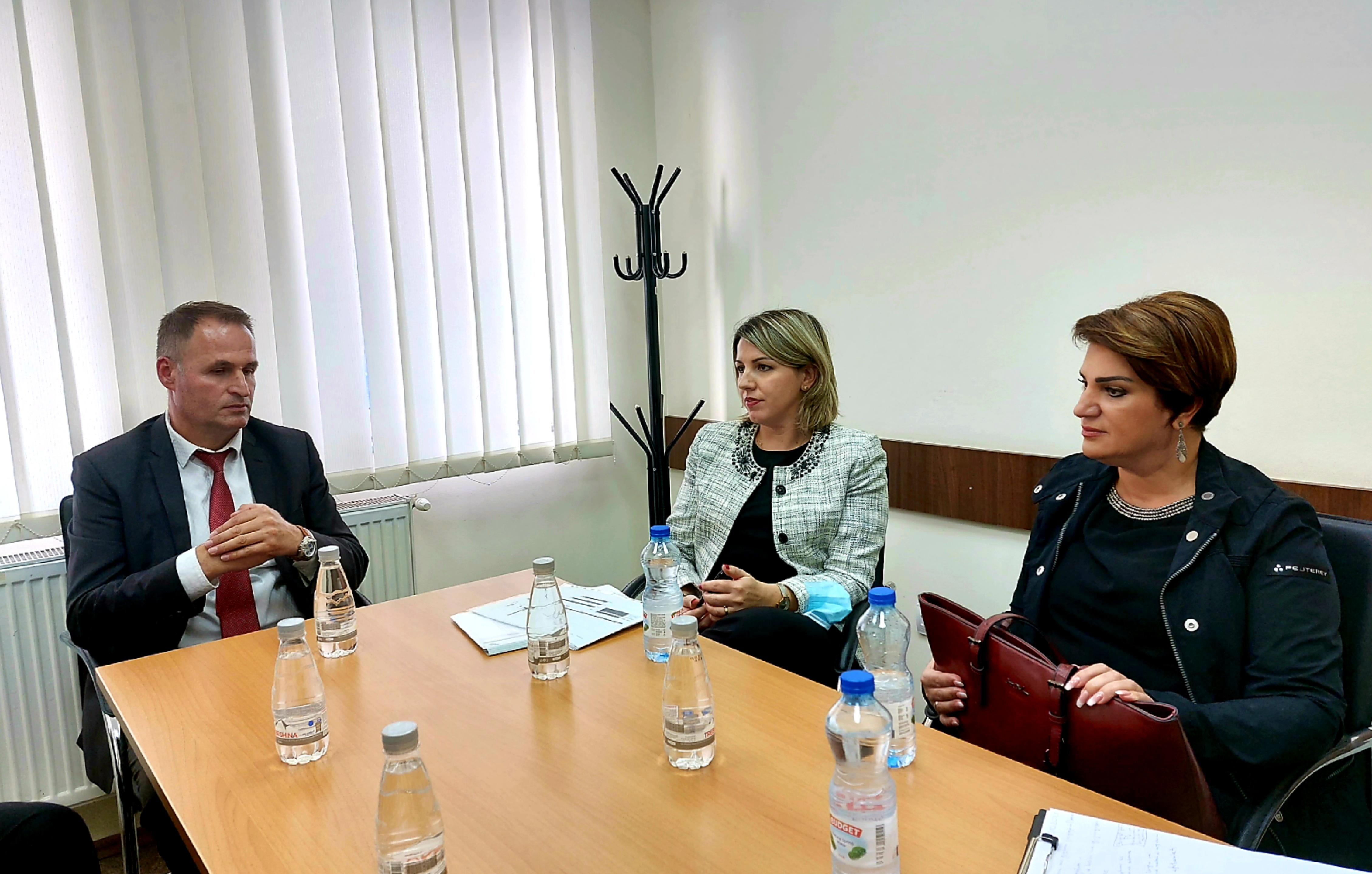 Kryetarja e Gjykatës Themelore në Prishtinë Albina Shabani Rama vizitoi degën në Drenas, të Gjykatës Themelore në Prishtinë